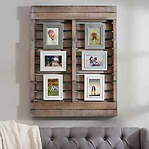 Harper Wood Pallet Collage Frame