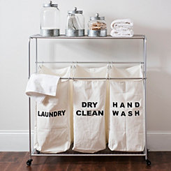 Laundry Organizer Cart Set