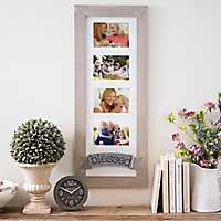 Blessed Galvanized Banner Collage Frame