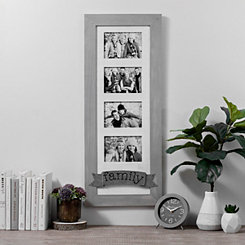 Family Galvanized Banner Collage Frame
