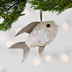 Iridescent Sand Fish Ornament