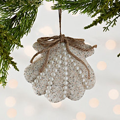 Sand Seashell Ornament