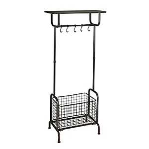 Wildina Metal Entryway Storage Rack