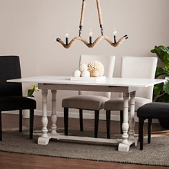 Convertible Farmhouse Console and Dining Table