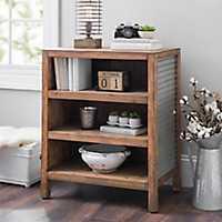 Galvanized Metal and Wood Shelf