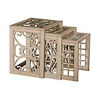 Juliana Nesting Tables, Set of 3