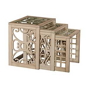 Juliana Nesting Tables, Set of 3