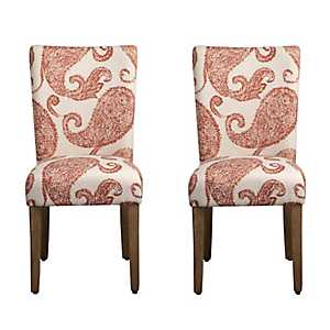 Henna Parsons Chairs, Set of 2