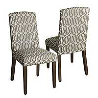 Finley Curved Top Parsons Chairs, Set of 2