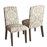 Suri Curved Top Parsons Chairs, Set of 2