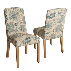 Lexie Curved Top Parsons Chairs, Set of 2