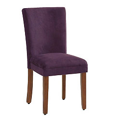 Plum Parsons Chairs, Set of 2