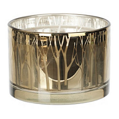 Metallic Green Crisp Night Air Candle