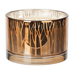 Metallic Gold Maple Butter Candle