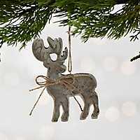 Wooden Deer Ornament