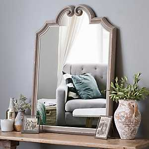 Sheppard Curled Top Wall Mirror