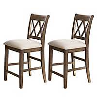 Aprilla Counter Chairs, Set of 2