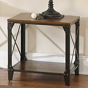 Brimfield Square End Table