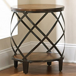 Brimfield Round End Table