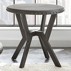 Calvert Round End Table