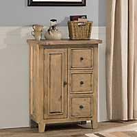 Tuscan Natural Three Drawer Cabinet