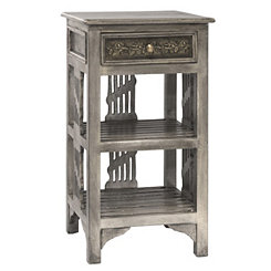 Graywash Alena Accent Table