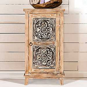 Distressed Toulon Accent Cabinet