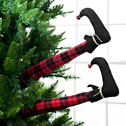 Buffalo Check Elf Leg Picks, Set of 2