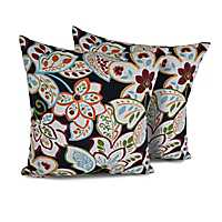 Villa Floral Outdoor Pillows, Set of 2