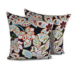 Villa Floral 18 in. Outdoor Pillows, Set of 2