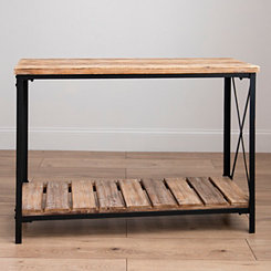 Heather Wood Pallet Console Table