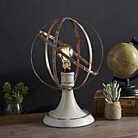 Mackinaw Sphere Edison Bulb Table Lamp