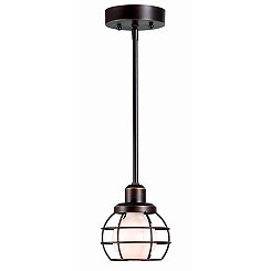 Caged Mini Pendant Lamp