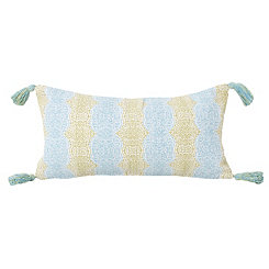Blue Malikah Reversible Accent Pillow