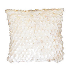 Ivory Capiz Shell Pillow