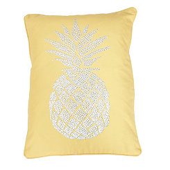 Yellow Polly Pineapple Pillow