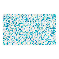 Lindi Blue Dots Accent Rug