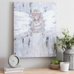 Angel Mother Canvas Art Print