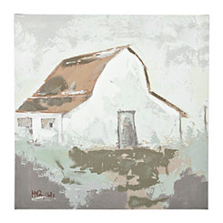 Barn Canvas Art Print