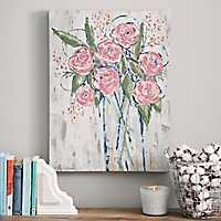 Fall Floral Bouquet Canvas Art Print