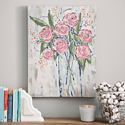 Fall Floral Bouquet Canvas Art Print