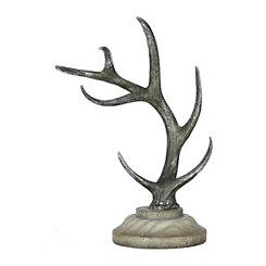 Standing Antler Statue