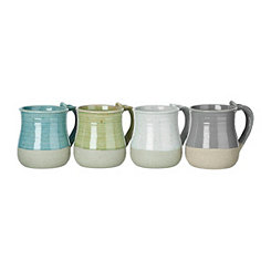 Dana Two-Toned Ceramic Mugs
