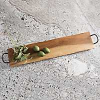 Long Reclaimed Wood Serving Tray