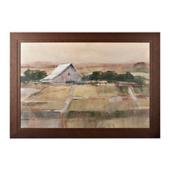 Rural Sunset Framed Art Print