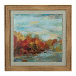 October Dreamscape Framed Art Print