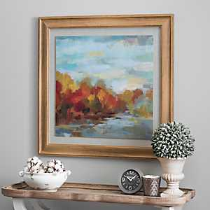 October Dreamscape Framed Art Print