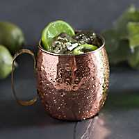 Antique Copper Hammered Moscow Mule Mug