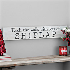 Deck The Halls Shiplap Box Top