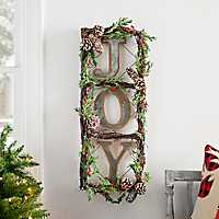Joy Wreath Sign